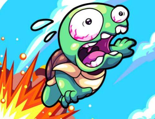 Teknős kaland játék